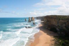 12 апостолов, национальный парк Campbell порта, Виктория, Австралия Стоковая Фотография RF
