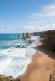 12 апостолов, национальный парк Campbell порта, Виктория, Австралия Стоковые Фотографии RF