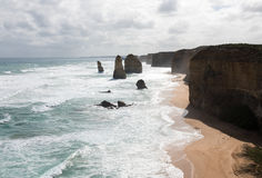 12 апостолов, национальный парк Campbell порта, Виктория, Австралия Стоковая Фотография