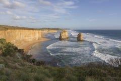 12 апостолов на большой дороге океана, Австралии Стоковая Фотография