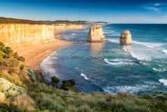 12 апостолов на большой дороге океана, Австралии Стоковое Изображение RF