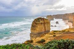 12 апостолов на большой дороге океана, Австралии Стоковое Изображение