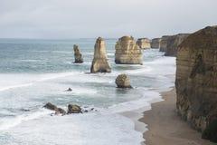 12 апостолов на большой дороге океана australites Стоковое Изображение RF