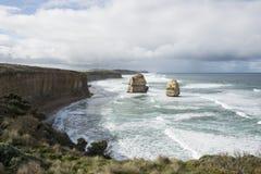 12 апостолов на большой дороге океана australites Стоковая Фотография
