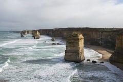 12 апостолов на большой дороге океана australites Стоковое Фото