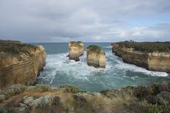 12 апостолов на большой дороге океана australites Стоковая Фотография RF