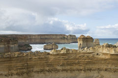 12 апостолов на большой дороге океана australites Стоковые Изображения RF