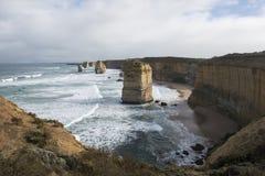 12 апостолов на большой дороге океана australites Стоковые Изображения