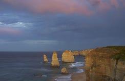 12 апостолов перед восходом солнца Стоковые Изображения