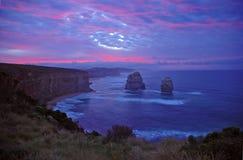 12 апостолов, побережье Виктории, Австралия Стоковое фото RF
