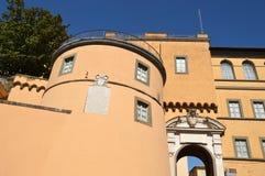 Апостольский дворец дома отдыха Castel Gandolfo Папы стоковое изображение