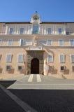 Апостольский дворец штабов Castel Gandolfo папы стоковые изображения rf