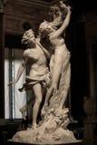 Аполлон и Daphne Gian Lorenzo Bernini Стоковое фото RF