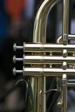 Аппаратура латунного ветра Стоковые Фотографии RF