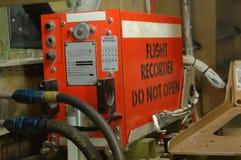 Аппаратура записи переговоров членов экипажа стоковое фото rf