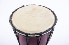 Аппаратура музыки ритма барабанчика Djembe Стоковые Изображения RF