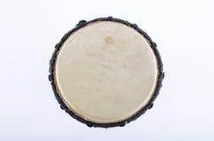 Аппаратура музыки ритма барабанчика Djembe Стоковое Изображение RF