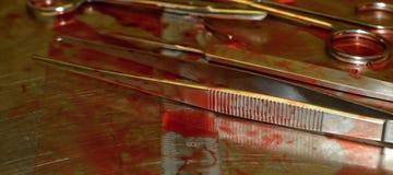 аппаратуры хирургические стоковое изображение