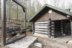 Аппалачское укрытие следа в Пенсильвании стоковые фото