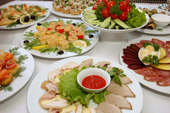 аппетитная еда некоторые стоковые изображения rf