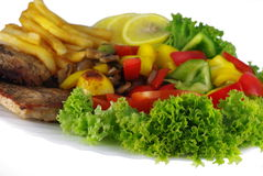 Аппетитная еда Стоковое Изображение