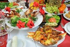 аппетитная серия еды Стоковое фото RF