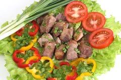 аппетитное shish kebab Стоковые Фотографии RF