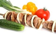 аппетитное shish kebab Стоковые Фото