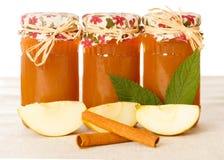 Аппетитные варенья Яблока стоковое изображение rf