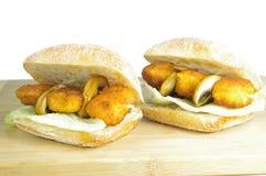 Аппетитные сандвичи Стоковое Фото
