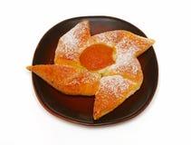 аппетитный испеченный свежий поддонник печенья Стоковое Изображение