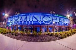 Апрель 2015 - низшая лига поля областей Бирмингема Алабамы baseb Стоковые Фото
