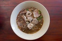 лапши еды тайские Стоковое Изображение
