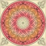 Арабеска текстуры орнамента Стоковая Фотография