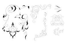 Арабеска для украшения Иллюстрация штока