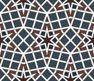 Арабская безшовная иллюстрация вектора картины Стоковые Фотографии RF