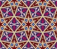 Арабская безшовная иллюстрация вектора картины Стоковая Фотография RF