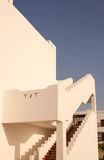 Арабская, восточная архитектура, украшение туризма, тень шагов Стоковая Фотография