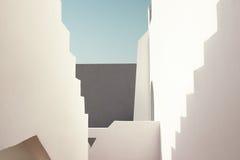 Арабская, восточная архитектура, украшение туризма, тень шагов Стоковые Фотографии RF