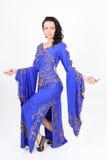 арабская красивейшая женщина танцы танцульки Стоковые Изображения RF