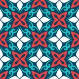 Арабская орнаментальная керамическая плитка иллюстрация вектора