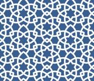 Арабская орнаментальная предпосылка - безшовная персидская картина Стоковые Изображения RF