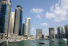 арабская соединенная Марина эмиратов Дубай Стоковое Изображение