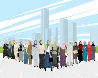 Арабские бизнес-леди Стоковая Фотография