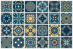 Арабские декоративные плитки Стоковые Изображения
