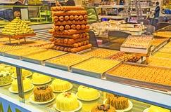 Арабские десерты Стоковая Фотография RF