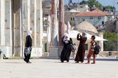 Арабские женщины стоковая фотография