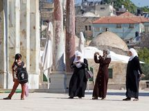 арабские женщины стоковые изображения