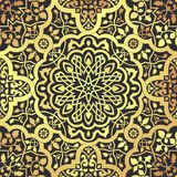 Арабские мотивы безшовные Стоковые Изображения