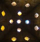 Арабские мотивы в Гранаде, Андалусии, Испании стоковое изображение